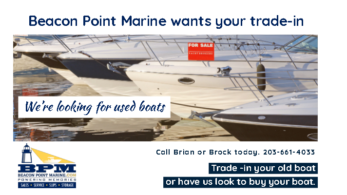 Beacon Point Marine wants your trade-in