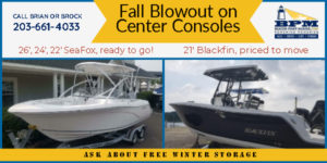 Fall Blow Out Boat Sale